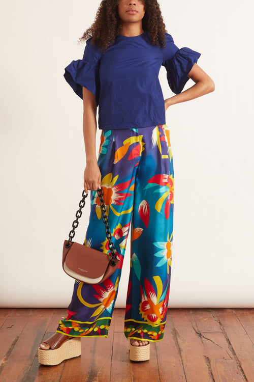 Silk Boy Pant in Pastorale