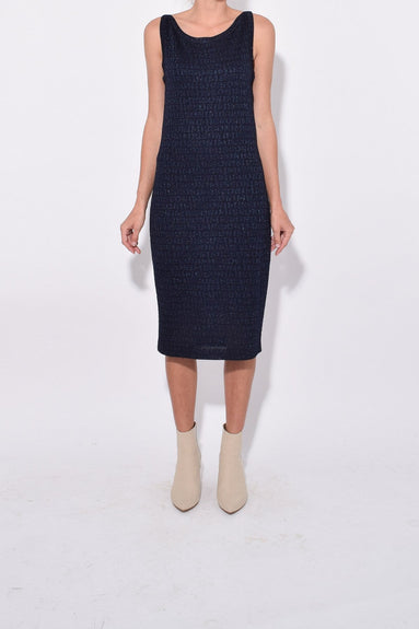 Missoni Print Dress in Navy