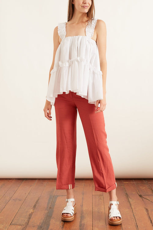 Aucuba Pant in Antique Pink