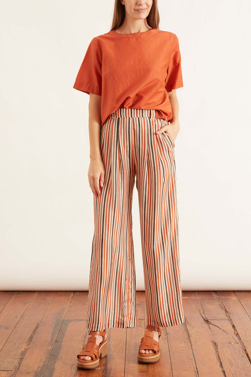 Lanzarote Pant in Multicolor Cream