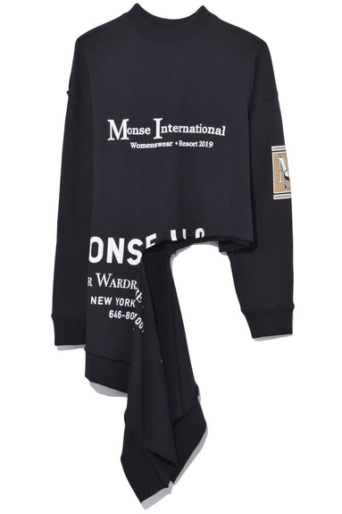 International Rip Sweatshirt in Black