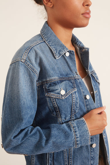 The Buttoned Up Drifter Jacket in Take Me Higher