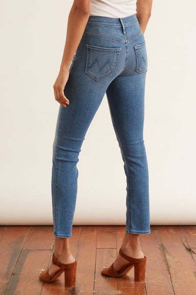 The Mid Rise Dazzler Ankle Jean in Hey Sun