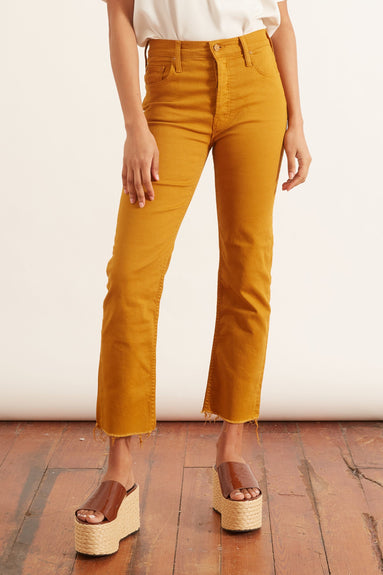 Tomcat Ankle Fray jean in Buckthorn Brown