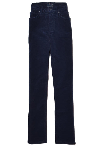 The Mid Rise Dazzler Ankle Jean in Navy