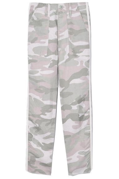 The Shaker Chop Crop Fray Pant in Desert Print