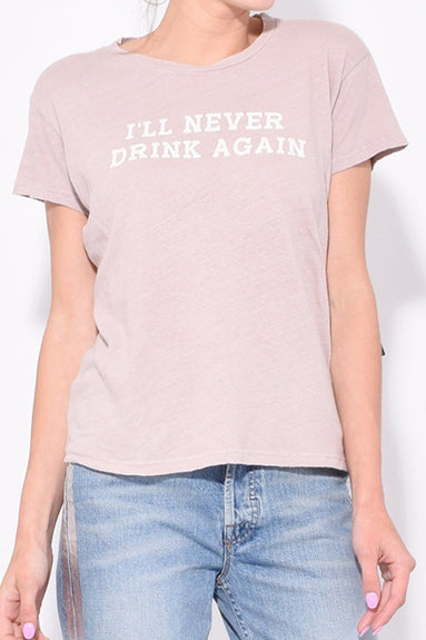 The Sinful Tee in Mauve