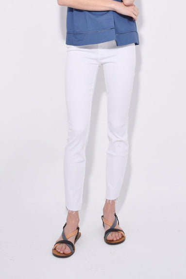 The Stunner Two Step Fray Jean in Glass Slipper