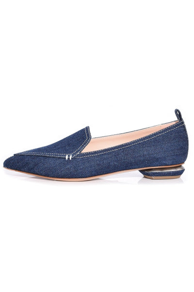 Beya Loafer in Dark Blue