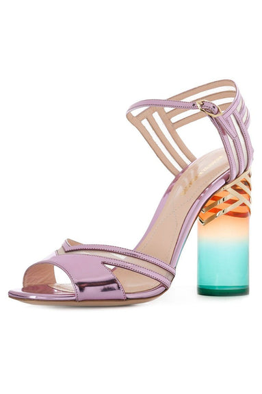 Zaha Sandal in Ice Pink