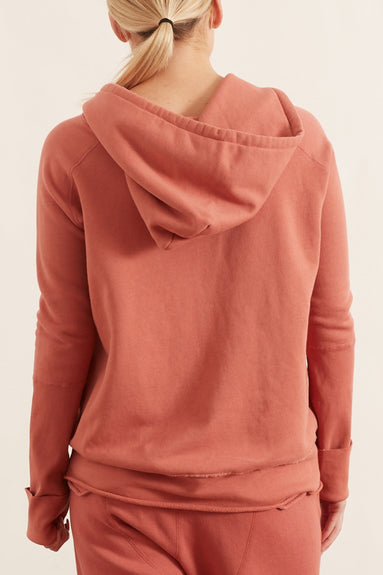 Janie Hoodie in Earth Rose