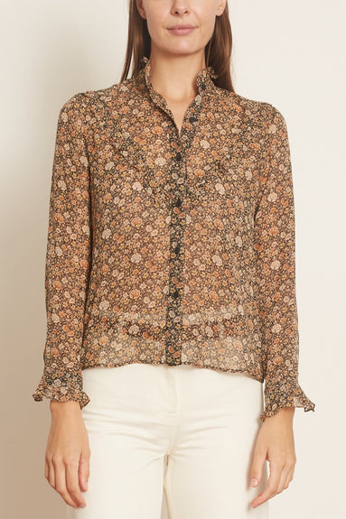 Marcela Shirt in Multi Floral