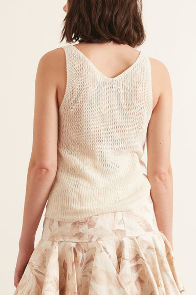 Nala Sweater in Ivory