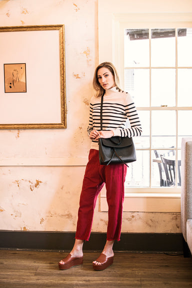 Luna Pant in Sunkissed Red