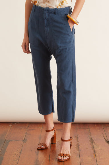 Luna Pant in Vintage Blue