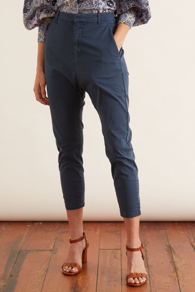Paris Pant in Vintage Blue