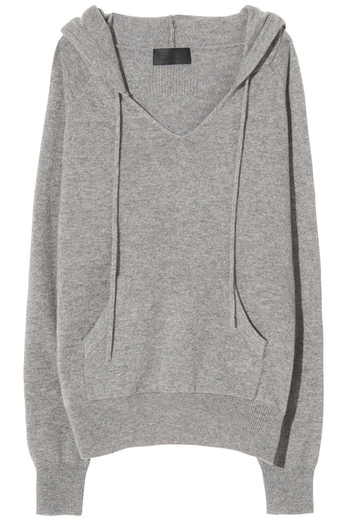 Albany Hoodie in Heather Grey