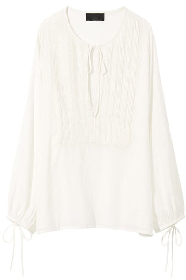 Amber Shirt in Ivory