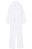 Aria Jumpsuit in White