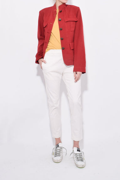 Cambre Jacket in Sunkissed Red