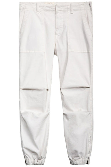 Cropped Military Pant in Eggshell