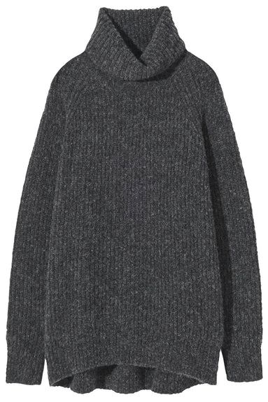 Douglass Sweater in Charcoal