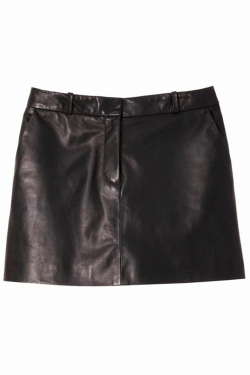 Laurel Mini Skirt in Black