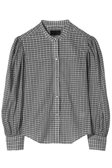 Maisie Shirt in Black Check