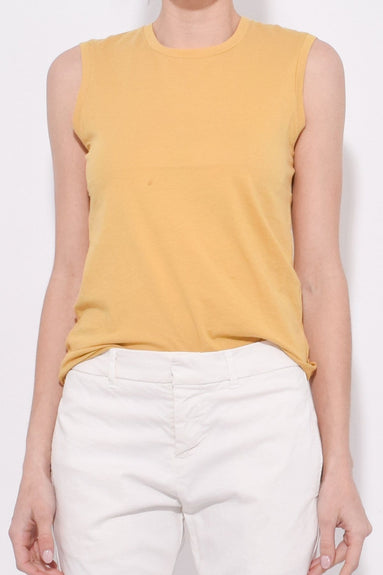 Muscle Tee in Golden Yellow