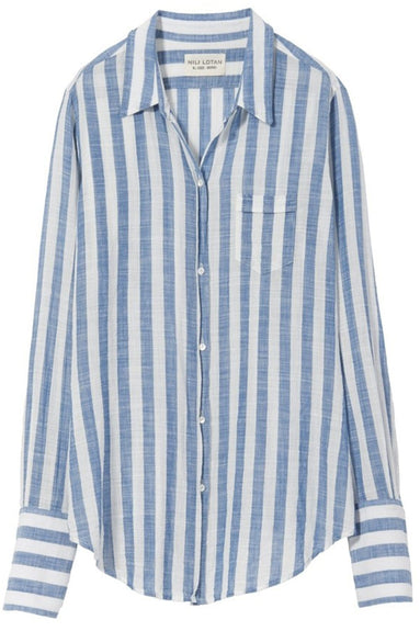 NL Shirt in Blue Stripe