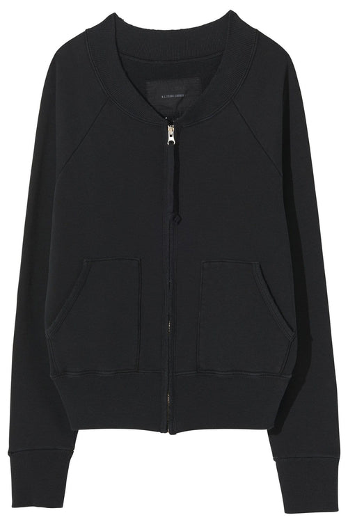 Petra Sweatshirt in Washed Black