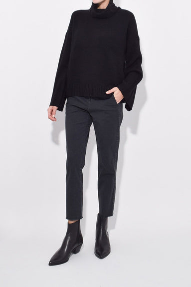 Rowan Turtleneck in Black