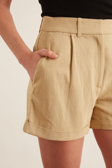 Napa Short in Khaki