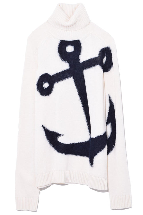 Anchor Sweater in Cream