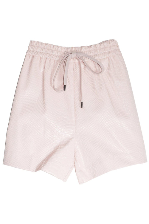 Drawstring Short in Powder Pink
