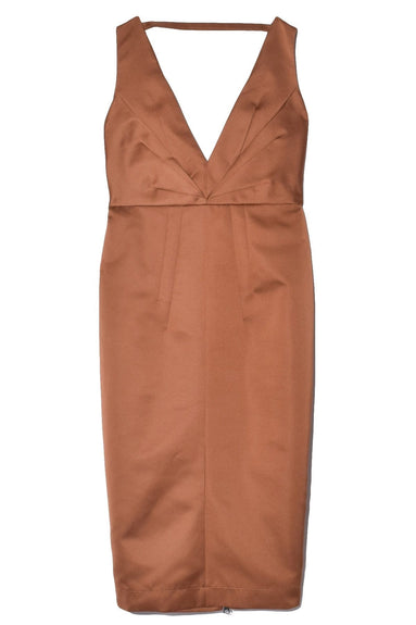 Dress in Pale Brown
