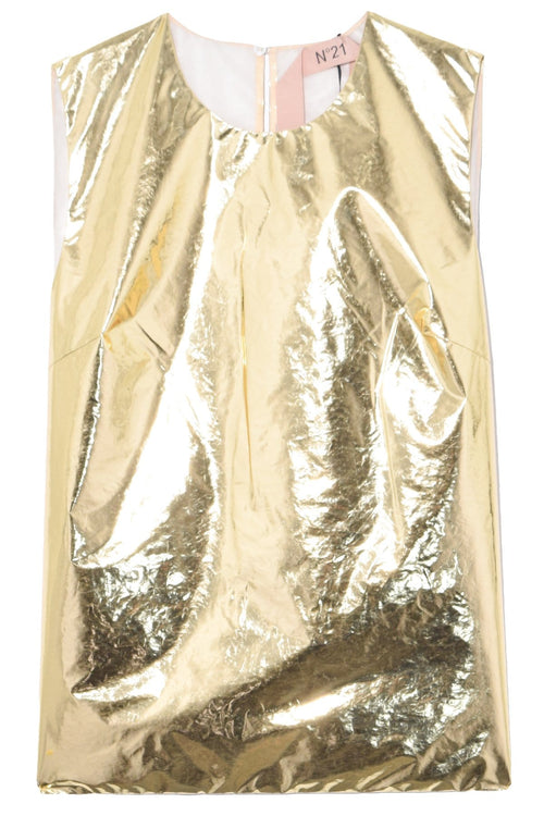 Sleeveless Top in Oro