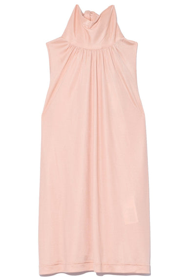 Sleeveless Turtleneck Top in Pink