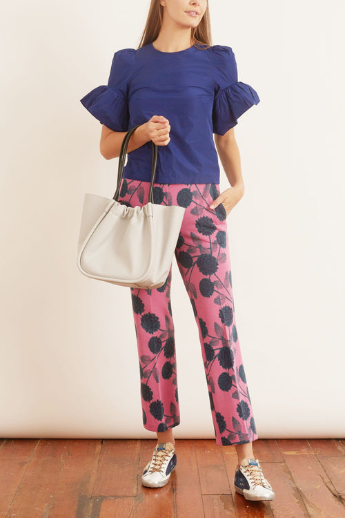 Straight Leg Pants in Pink