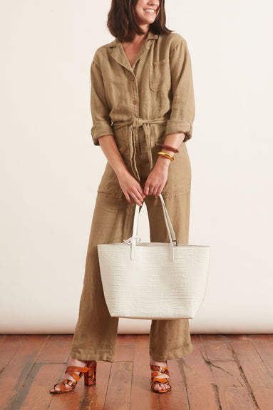Magnolia Jumpsuit in Olive