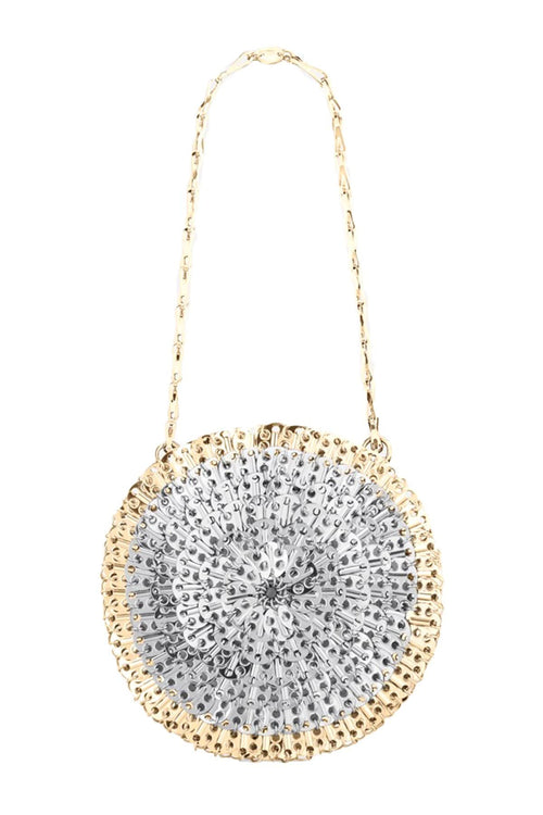 1969 Circle Skyline Bag in Silver/Light Gold