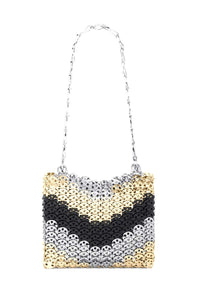 Multicolor 1969 Disc Bag in Gold/Silver