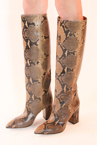 Python Print High Boot in Camel