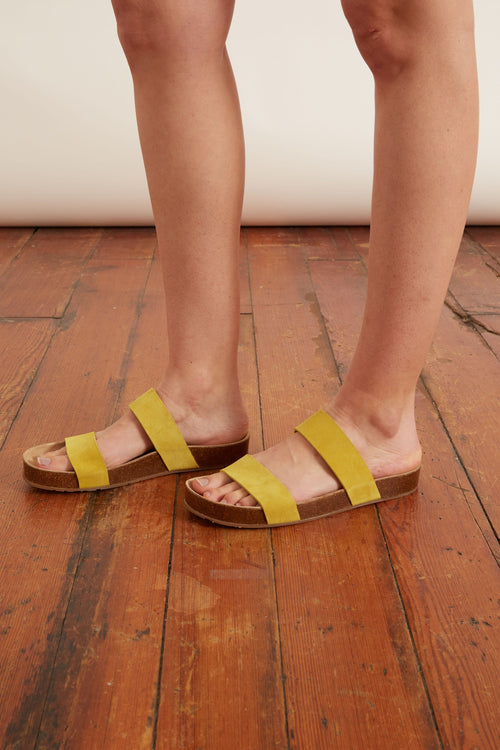 Adrien Sandal in Maize Castoro