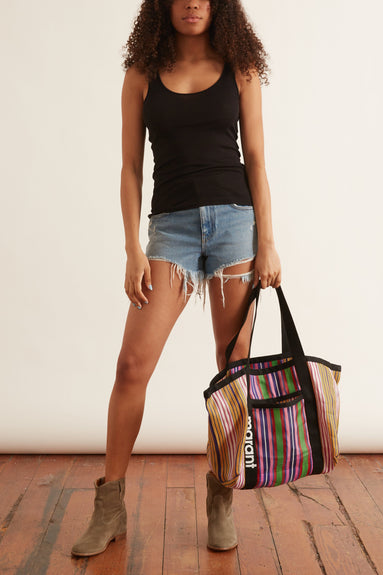 The Globe Trotter Tank in Pure Black