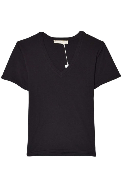 The Classic V-Neck in Dominoes