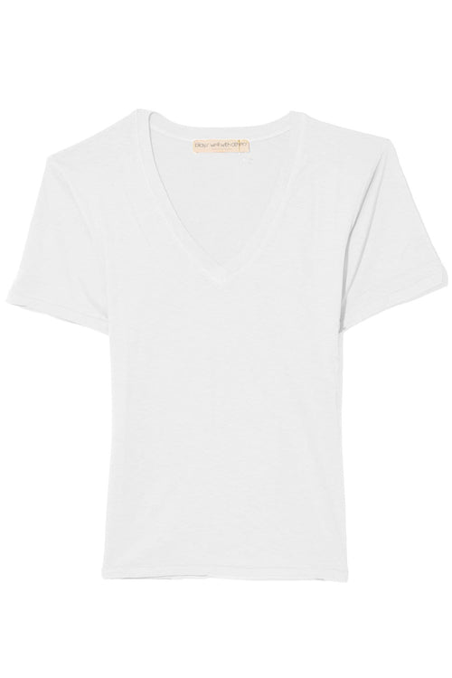 The Classic V-Neck in Toga Party