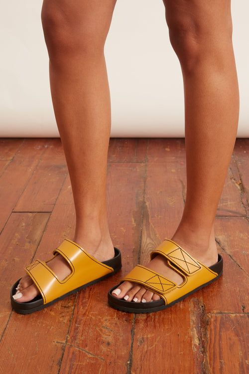PS X Birkenstock Arizona Sandal in Ochre