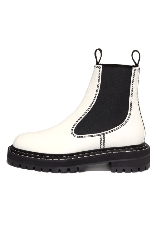 Chelsea Boot in Optic White