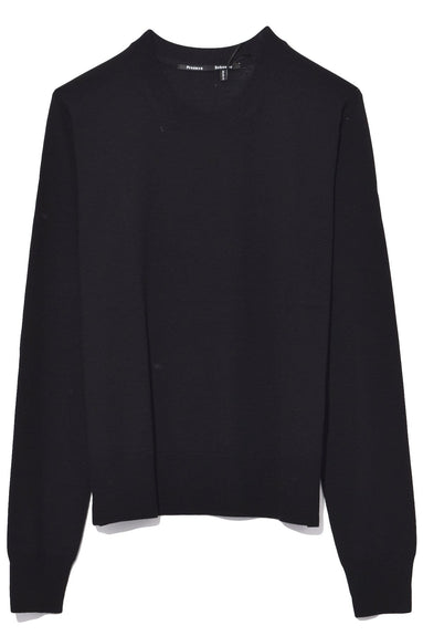Crewneck Sweater in Black
